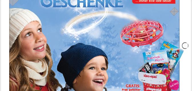 Spielwaren-Weihnachtskatalog online oder im Laden!